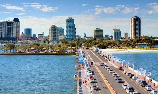 St. Petersburg, FL, Most Beautiful Beaches in Florida 2017