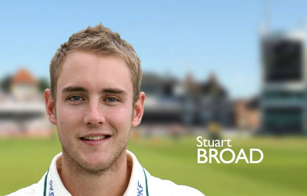 Stuart Broad, Most Handsome English cricketers 2017