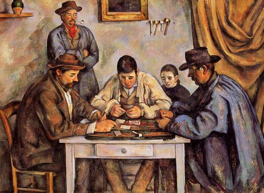The Card Players Most Expensive Paintings 2018