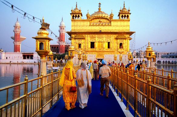 The Golden Temple, India, World's Most Beautiful Buildings 2017