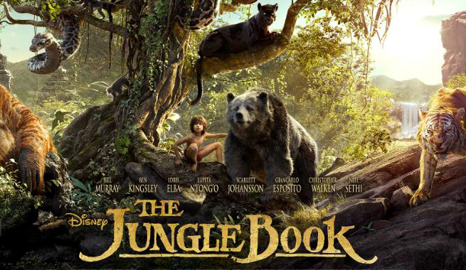 The Jungle Book Most Popular English Movies 2016