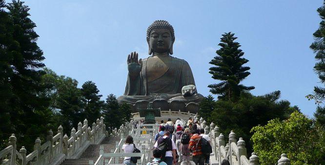 Tian Tan Buddha in Lantau Island, Hong Kong World's Most Beautiful Places To Visit 2018