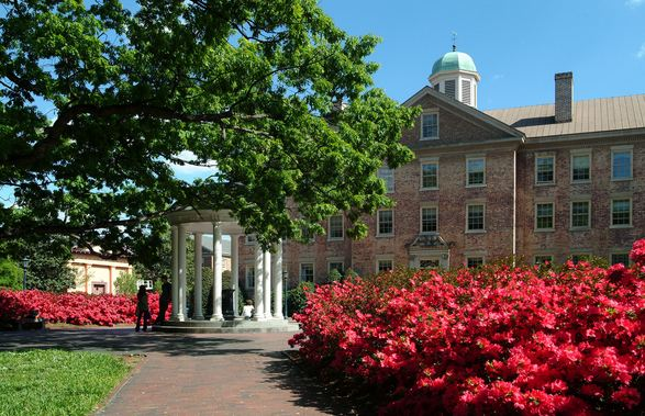 University Of North Carolina at Chapel Hill, World's Most Beautiful Colleges 2017