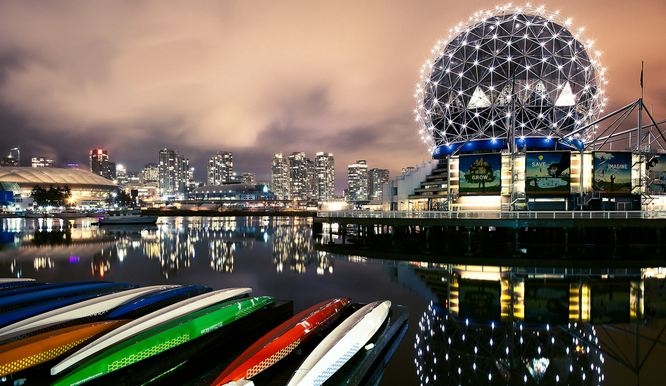 Vancouver, Canada, World's Most Beautiful Cities 2018