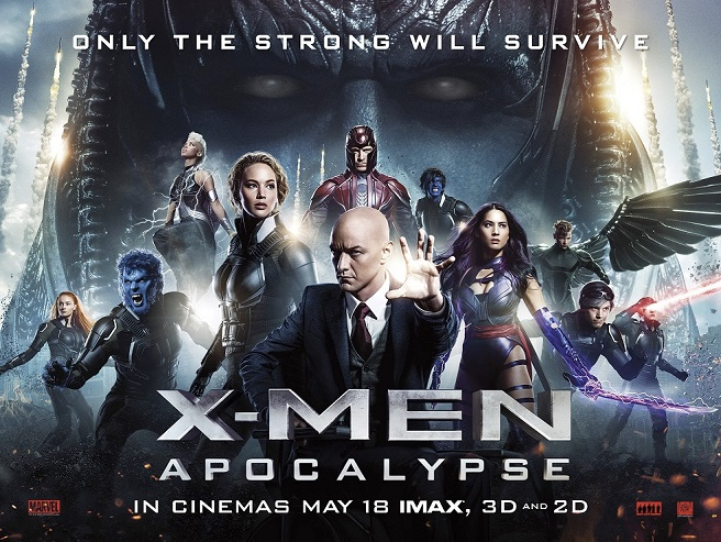 X-Men Apocalypse Most Popular English Movies 2018