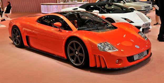 2001 Volkswagen Nardo W12 Coupe Concept