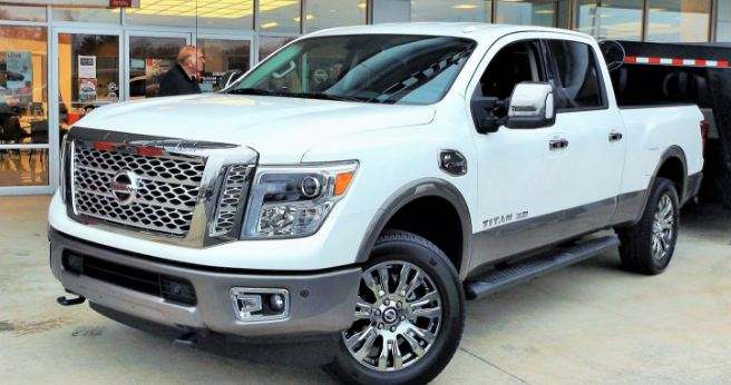2016 Nissan Titan XD Platinum Reserve Diesel, World's Most Expensive Trucks 2017