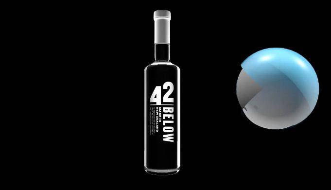 42 below Top 10 best-selling vodka brands in the world 2017