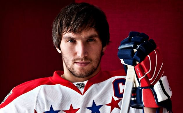 Alex Ovechkin, Most Popular Hottest NHL Players 2016