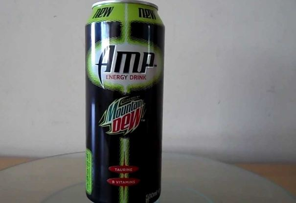Amp, Most Popular Best Selling Energy Drinks 2016