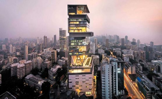 Antilia, most expensive villas in the world 2019