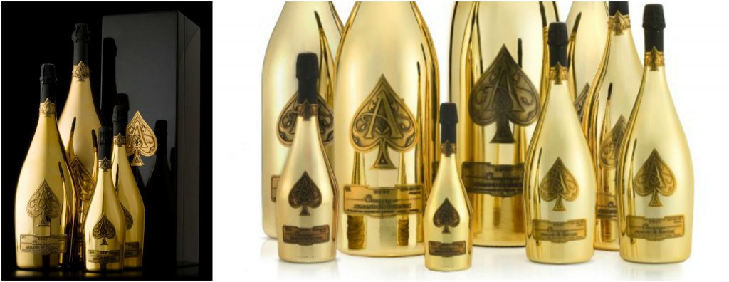 Armand de Brignac Midas Most Expensive Liquors in 2016-2017