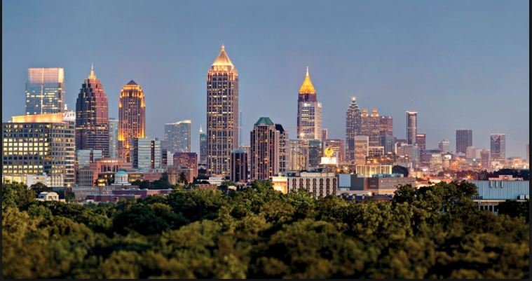 Atlanta, Most Popular US Cities 2017