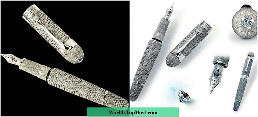 Aurora Diamante Fountain Pen most expensive items 2016-2017-2018
