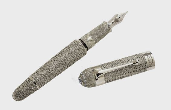 Aurora Diamante Fountain Top 10 Most Expensive Pens in the world 2017