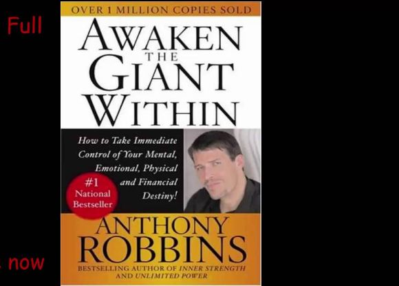 Awaken the giant within Top most popular best-selling inspirational books in the world 2019