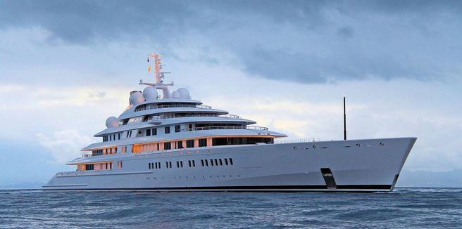 Azzam, World's Largest Yachts 2017