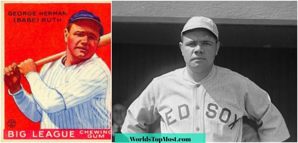 Babe Ruth expensive baseball cards 2016-2017