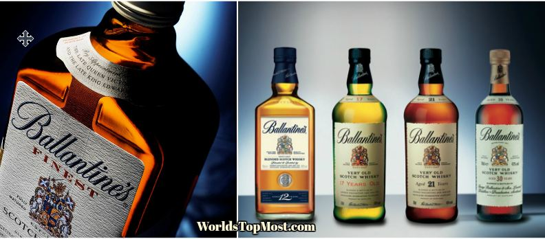 Ballantines top Selling Whiskey Brands 2016