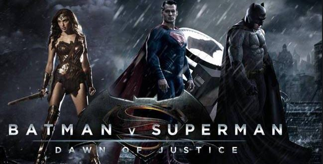 Batman v Superman Dawn of Justice high budget movie 2016-2017