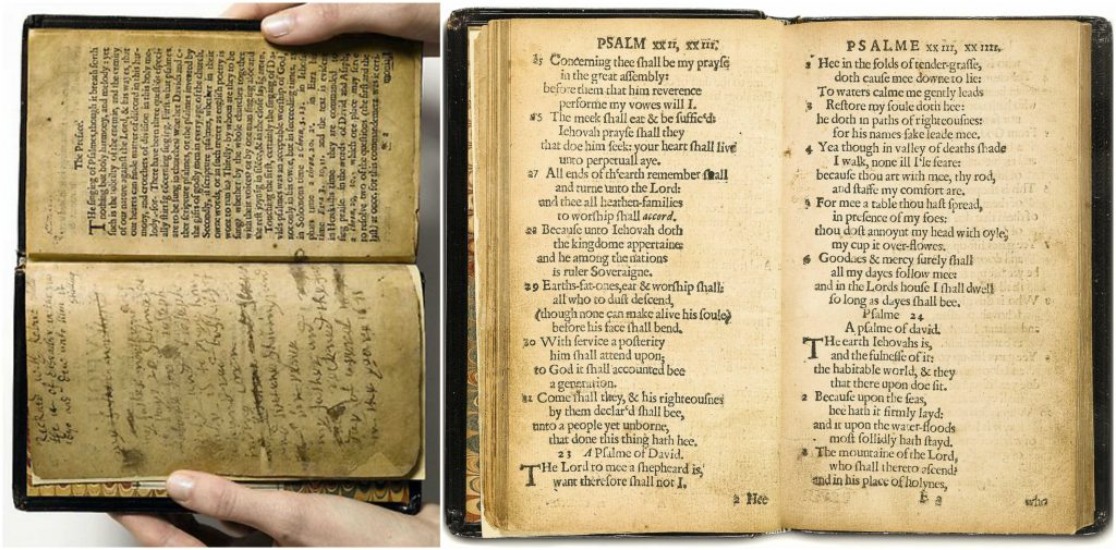 Bay Psalm Book, World's Most Expensive Books 2017
