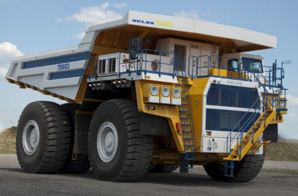 Belaz 75601 largest dump trucks 2019
