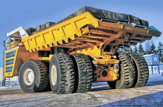 Belaz 75710, World's largest dump trucks 2017