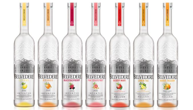 Belvedere Top most best-selling vodka brands in the world 2017