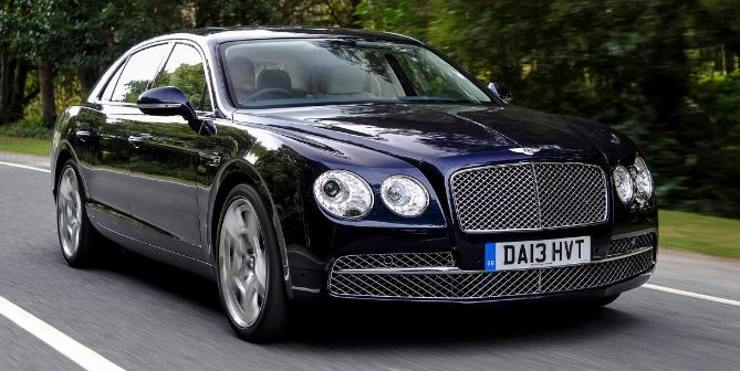 Bentley Flying Spur, Most Expensive Luxury Cars in India 2019