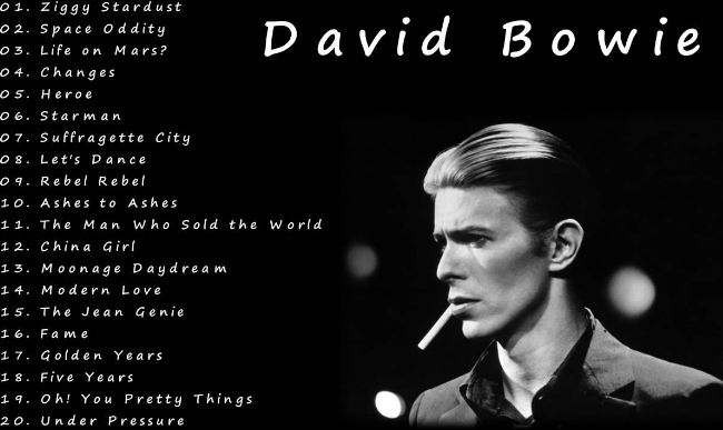 Best of Bowie- David Bowie Top Most Best Selling UK Albums in The World 2017