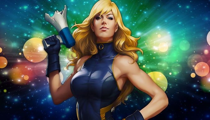 Black Canary, Hottest Comic Book Female Characters 2016