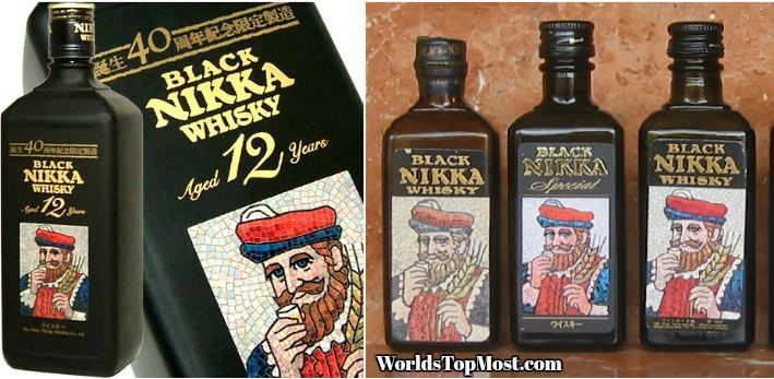 Black Nikka Best Selling Whiskey Brands 2016