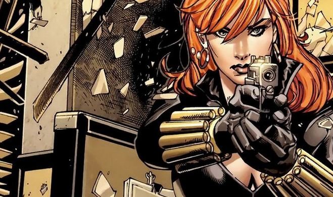 Black Widow, Hottest Comic Book Female Characters 2017