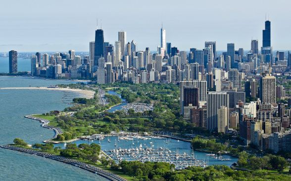 CHICAGO, USA Top 10 Richest Towns In The World 2017
