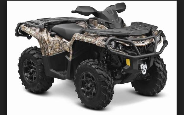 Can-AM Outlander 1000 Xmr Camouflage top expensive quad bikes 2016-2017