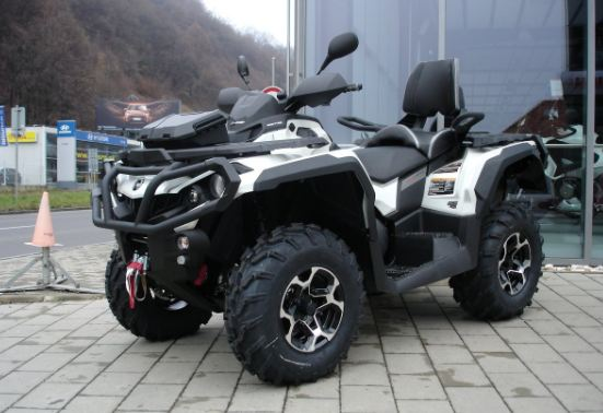 Can-AM Outlander Max 1000 Limited expensive quad bikes 2016-2017