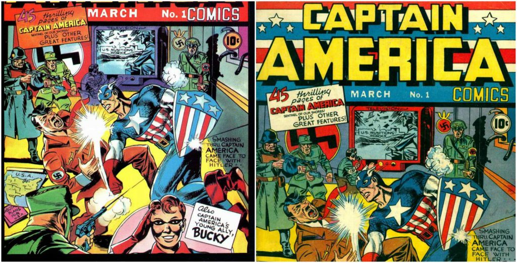 Captain America Comics No 1, Most expensive comics 2016
