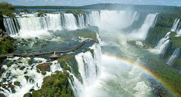 Cataratas del Iguazo largest and biggest waterfalls 2017