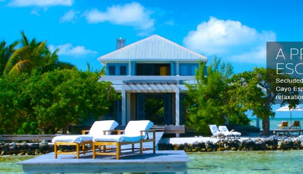 Cayo Espanto- Belize most expensive resorts in the world 2019