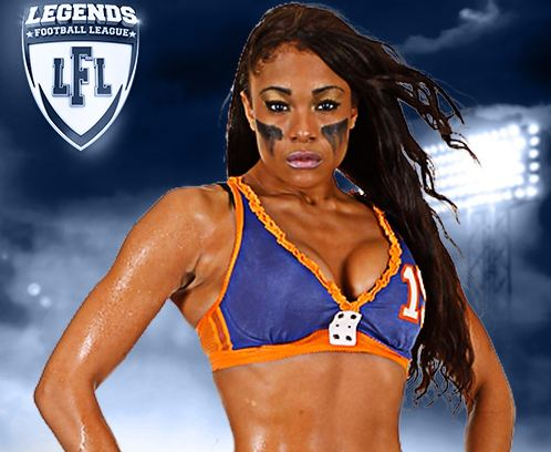 Chantel Taylor, Most Popular Hottest LFL Players 2017