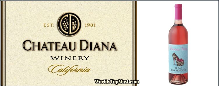 Chateau Diana Pink Moscato best selling wines 2016-2017-2018