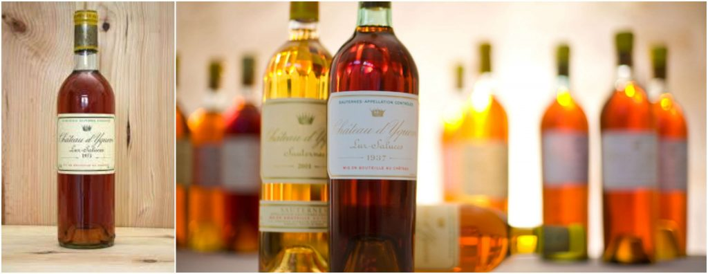 Chateau d'Yquem Most Expensive Liquors in 2016-2017-2018
