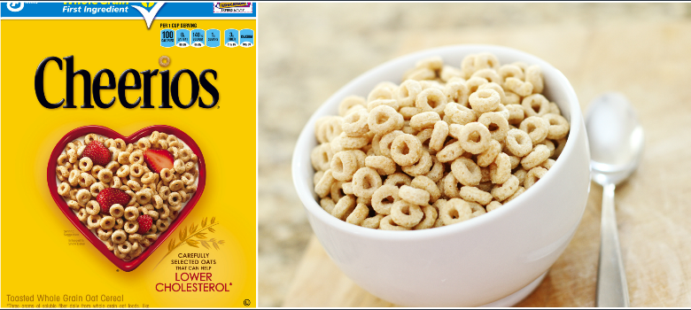 Cheerios Bestselling Food Products 2016-2017