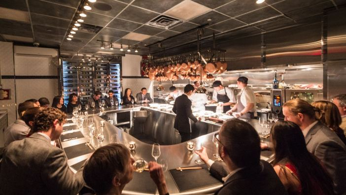 Chef's Table at Brooklyn Fore, most expensive restaurants in New York 2018