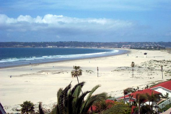 Coronado Beach, San Diego, California, Most Beautiful Beaches in America 2016
