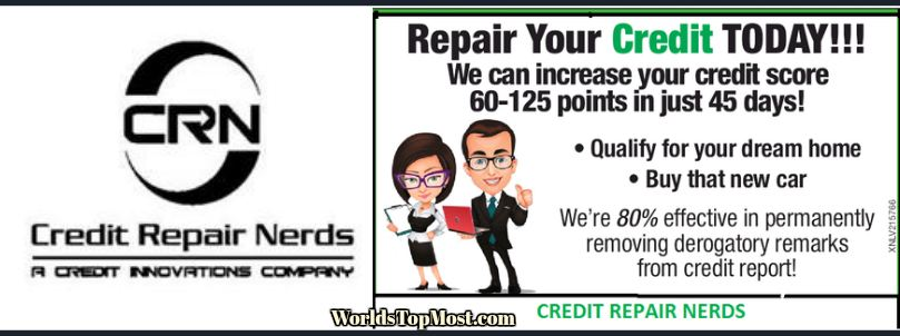 Credit Repair Nerds cheapest Franchises 2016-2017