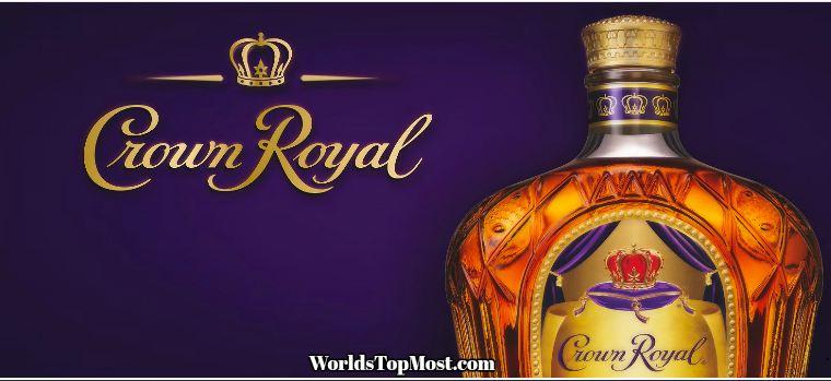 Crown Royal Best Selling Whiskey Brands 2016-2017