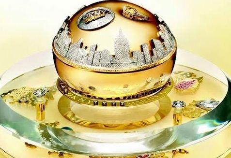 DKNY Golden Delicious Million Dollar Fragrance Bottle, World's Most Popular Best Smelling Perfumes 2017
