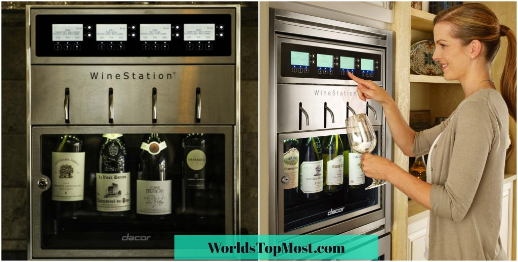 Dacor Discovery Wine Station Most Expensive Kitchen Gadgets 2016