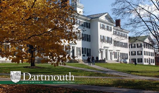 Dartmouth College Most Expensive Universities in USA 2017